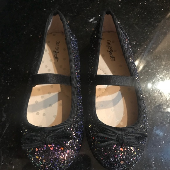 e1ad24fccdb cat   Jack Other - New Cat Jack Iridescent Glitter Sparkle Shoes 8